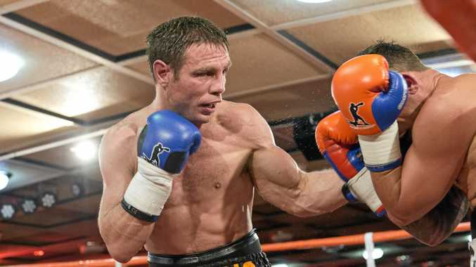 Michael Katsidis is on track for his Super8 title shot this weekend at Rumours International.