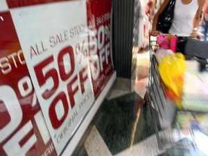 Shopping mayhem