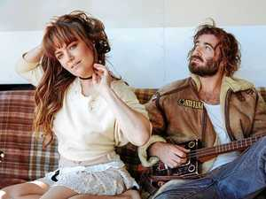 Angus Stone gets woken up by the cows licking his yurt