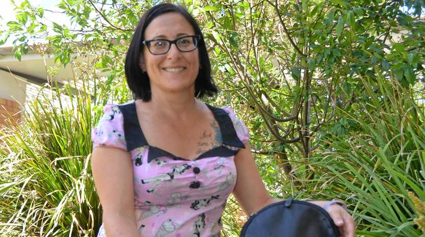 GIVE BACK: Share the Dignity Southern Downs branch volunteer Lisa Brown will be handing over the baton after the It's In The Bag campaign.