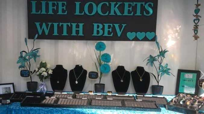 BREAK AND ENTER: The thieves stole everything from Life Lockets With Bev.