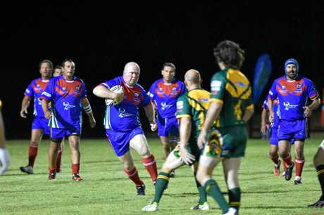 Legends of League game at Stafford Park, Hervey Bay.