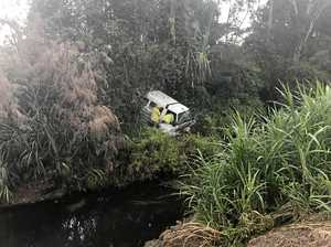 Man airlifted from scene of crash on Bruce Hwy