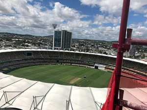TESTING CONDITIONS: The harder and faster conditions of the Gabba wicket will challenge the English middle-order.