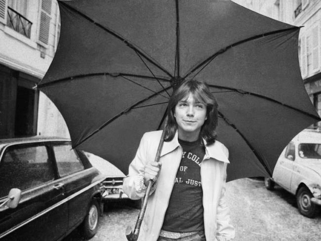 David Cassidy in London at the height of his fame in 1974.