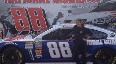 Ms Grote was an aspiring NASCAR driver. Picture: Supplied