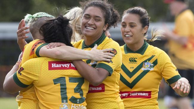 The Jillaroos were in a different class. (AAP Image/Craig Golding)