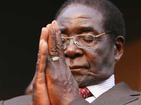 Robert Mugabe in 2007. Picture: AP Photo/Tsvangirayi Mukwazhi