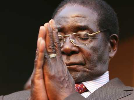 Robert Mugabe in 2007. Picture: AP Photo/Tsvangirayi Mukwazhi