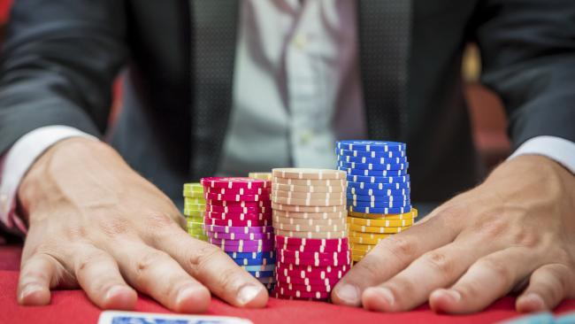 The most amount of money spent on gambling went to poker in 2015.