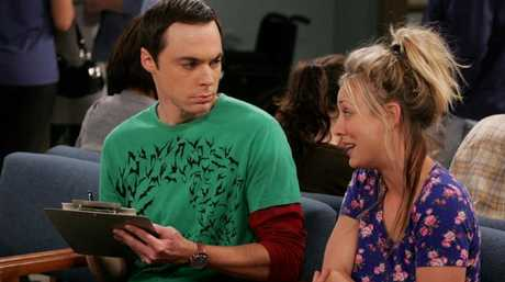 Pay close attention to Sheldon's shirts from now on. Photo: Nine.
