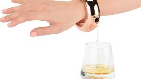 The Boozelet Bracelet Alcohol Flask