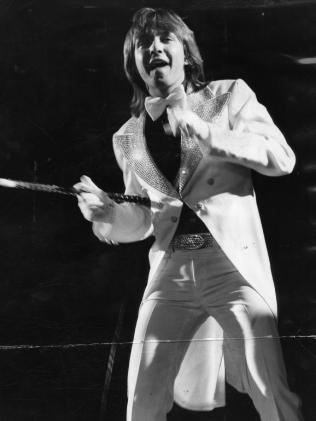 Cassidy performs in Adelaide in March 1974.