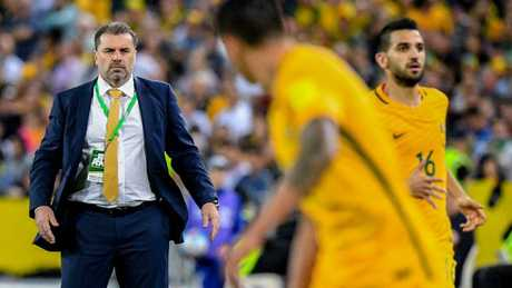 Ange Postecoglou's final match in charge was the clash against Honduras which clinched Australia's World Cup spot.