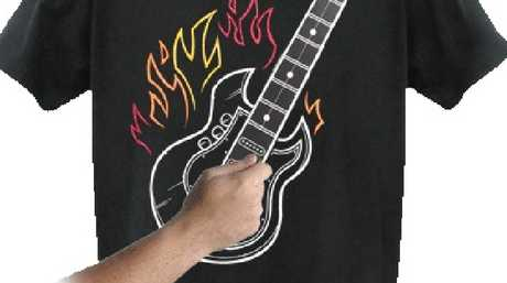 Playable Guitar T-shirt from popcultcha.com.au