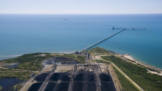 The site of Adani's Carmichael Coal mine project in north Queensland.