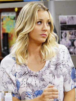 Cuoco became a household name as Penny. Photo: Sonja Flemming/CBS via Getty Images