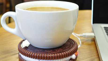 Hot Cookie USB Coffee Cup Warmer