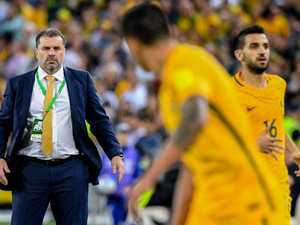 Socceroos coach spectacularly quits