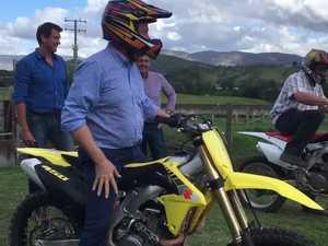 Tim Nicholls visits Parklands Droughtmasters