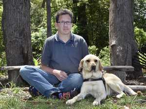 Man with guide dog says restaurants turned him away