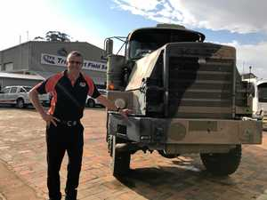 Geoff with the Mack R600.