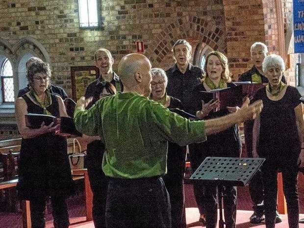 VOICES: Vox Caldera performing at St Andrew's Anglican Church in Lismore.