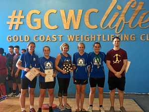Weightlifters shine bright at competition