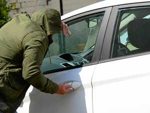 Break-ins and theft rates spike in town