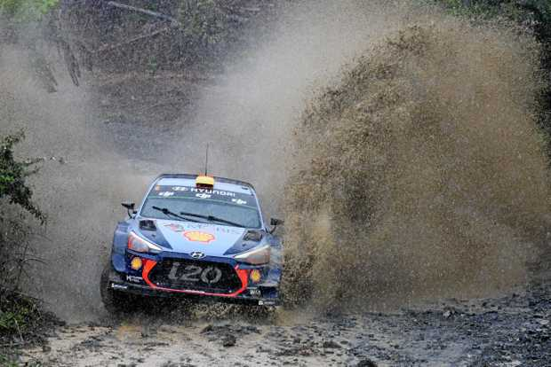 WASHING OUT? Critics have said Coffs Harbour is too small to be hosting the final leg of the World Rally Championship.