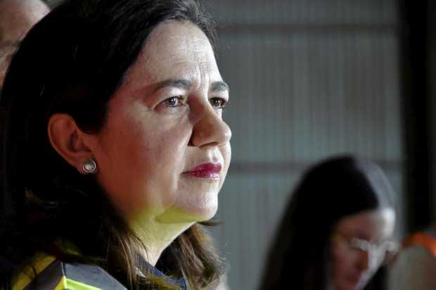 Premier Annastacia Palaszczuk. Mt Tyson. Queensland Election 2017. November 2017
