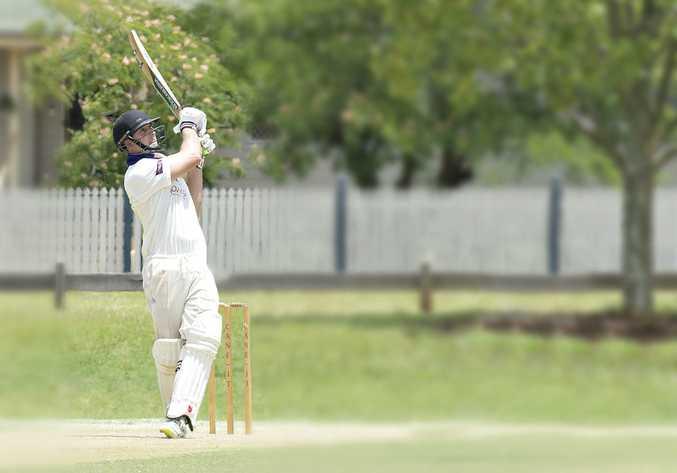 Toowoomba wicket keeper Chris Hall.