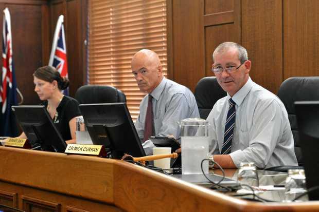 AT THE PEAK: Council CEO Bernard Smith and Mayor Mick Curran are among the council's top earners in their respective offices.