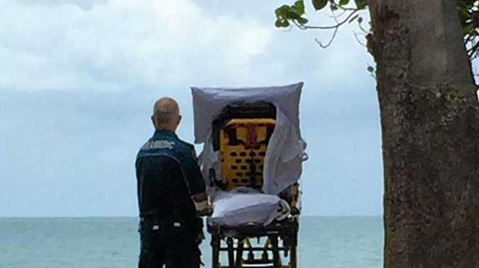 TOUCHING: Paramedics fulfilled the wish of a palliative care patient who wanted to visit the beach for one of the last times.