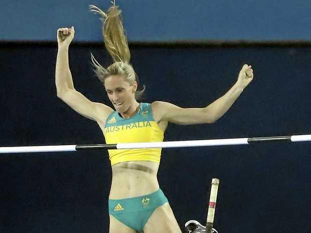 STARS: Alana Boyd at the Rio Games last year.