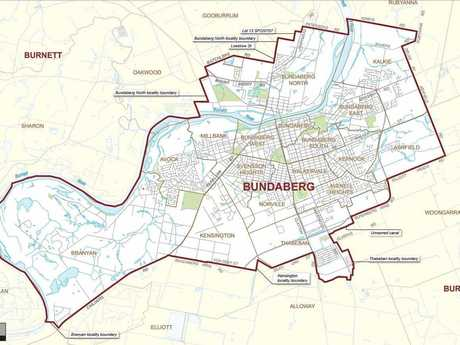 SURROUNDED: The seat of Bundaberg is surrounded by Burnett.