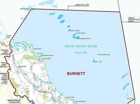 DONUT: The seat of Burnett includes Bargara, Childers and Agnes Water, and surrounds the seat of Bundaberg.