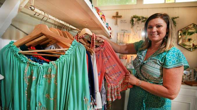 POSITIVE OUTLOOK: Kindred Collective business owner Lou Sinclair is planning on taking some time out for herself as the effects of the flood continue to take their toll.