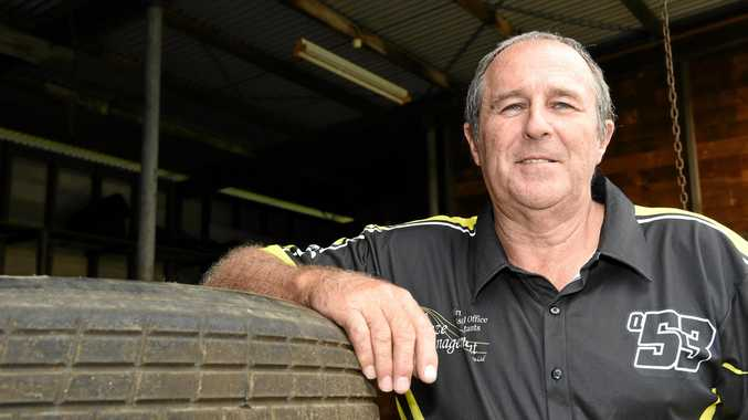 WIDE BAY TITLE: National Modlites president Robert Hardy is excited about the sport's future.
