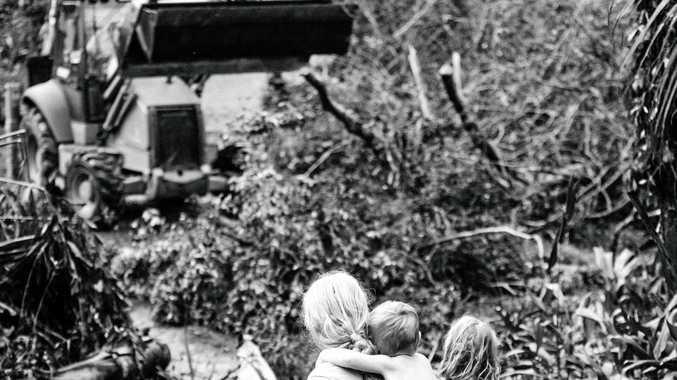 Summer Rain Mulvey's award winning photograph entitled, First Sight of Relief.