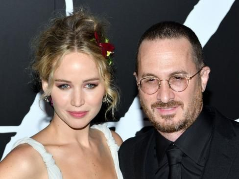 Jennifer Lawrence and Darren Aronofsky have split after a year together. Picture: Splash News