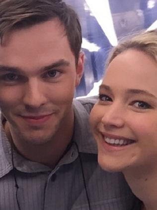 Jennifer Lawrence and fellow actor Nicholas Hoult were in a relationship for four years. Picture: Instagram