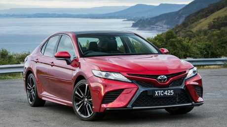The new Toyota Camry imported from Japan replaces the locally-made model that went out of production last month. Picture: Supplied.