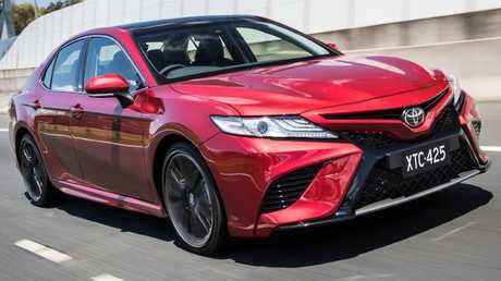 Toyota is hoping the Camry V6 may appeal to former Falcon and Commodore customers. Picture: Supplied.