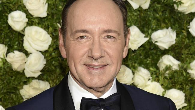 Kevin Spacey arrives at the 71st annual Tony Awards at Radio City Music Hall in New York. Picture: Evan Agostini/Invision/AP