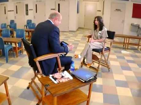Dr Phil McGraw sat down with Gypsy Rose Blanchard from prison in Missouri.