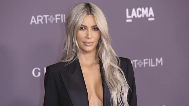 Kim Kardashian has thrown her support behind a 29-year-old US woman who was convicted of murdering a man when she was 16. Picture: Willy Sanjuan/Invision/AP