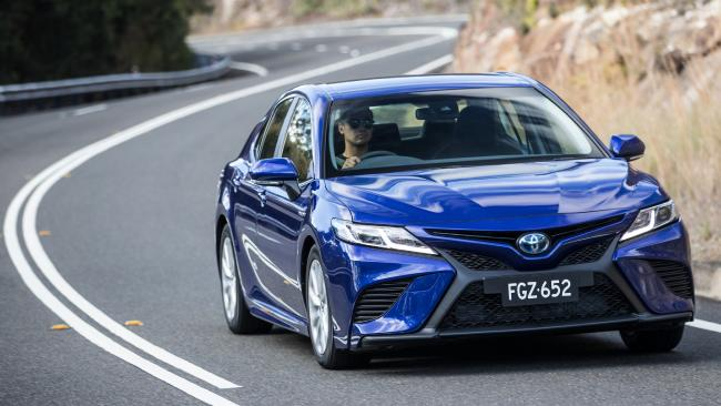 The 2018 Toyota Camry has the biggest technology change in the model's history. Picture: Supplied.