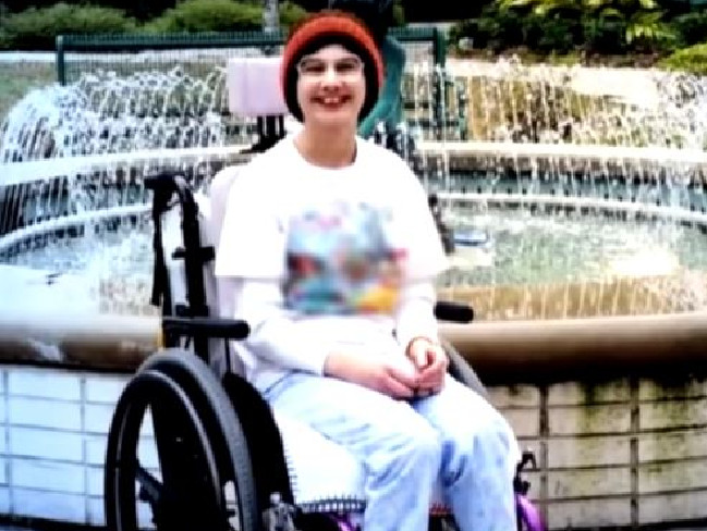 Gypsy Rose was forced by her mother to be in a wheelchair and appear unwell her whole life.