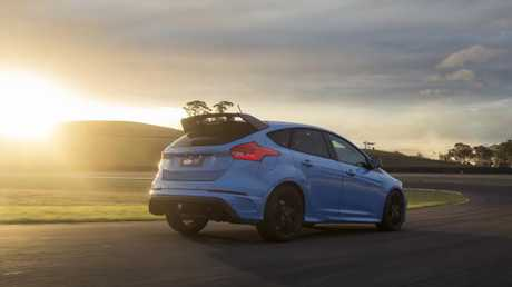 This is the end of the line for the Ford Focus RS. Picture: Supplied.
